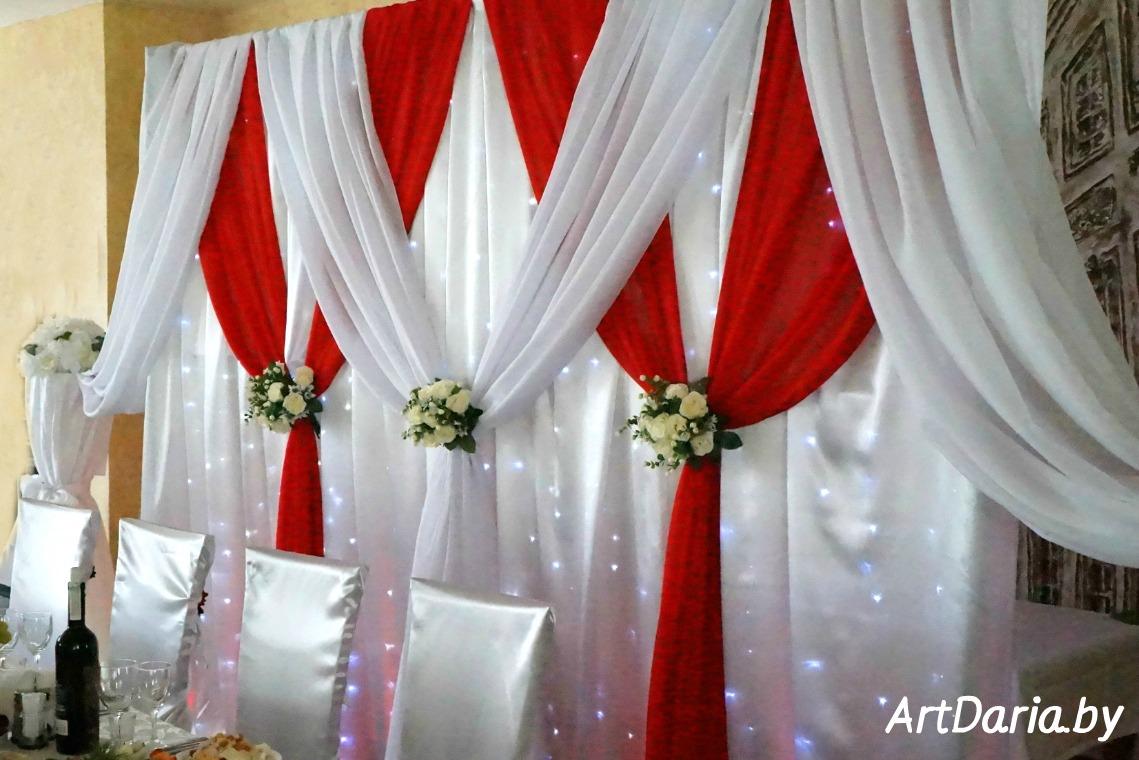 Оформить задник для свадьбы своими руками 20