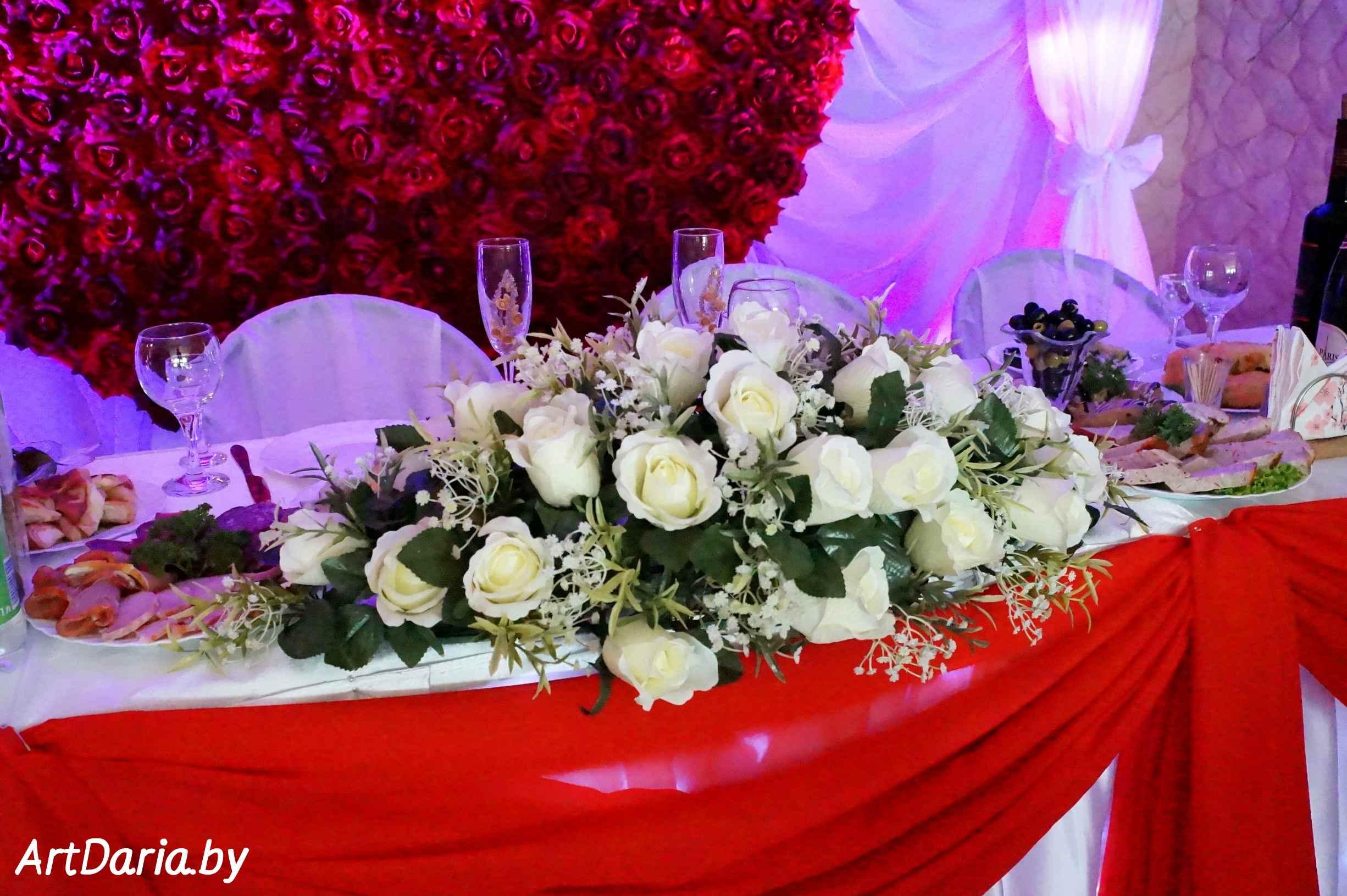 Свадьба из цветов фото